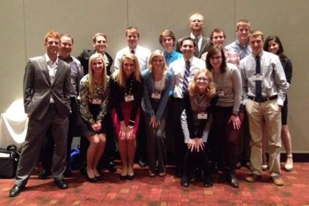 GVSU CEO Club group photo at the national conference